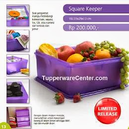 Square Keeper, Tupperware Indonesia