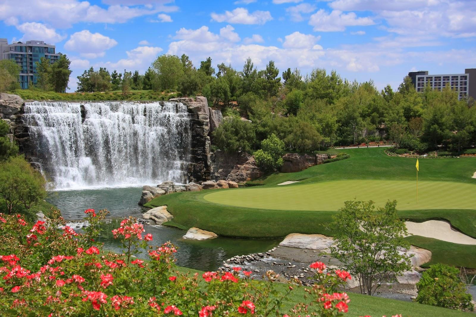 Imagenes de jardines con cascadas jardines con cascadas for Piletas con cascadas
