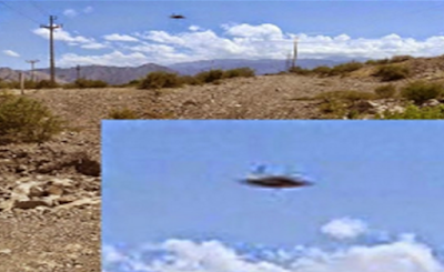 Clear Disc UFO Caught Above Argentina 2015, UFO Sighting News
