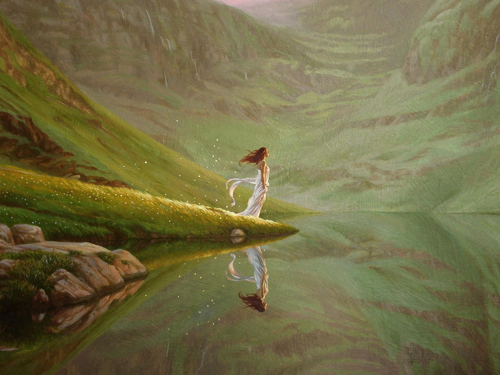 Christophe Vacher Vision at the lake
