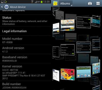 Ya tenemos el firmware Oficial de Android 4.1.2 para el Galaxy S3 GT-I9300 Libre de fabrica, el mismo ya puede ser instalado manualmente por medio de Odin en España y América Latina y que viene con la esperada Premium Suite, y con el parche del bug del chip Exynos y de la muerte súbita. Los firmwares oficiales para tu país lo puedes buscar en SamMobile.com/Firmware, como I9300 donde en la lista de resultados vas a poder ver la versión de Android, fecha de liberación, Baseband y CSC, puede ser usado como un firmware diario y por ahora ya esta disponible