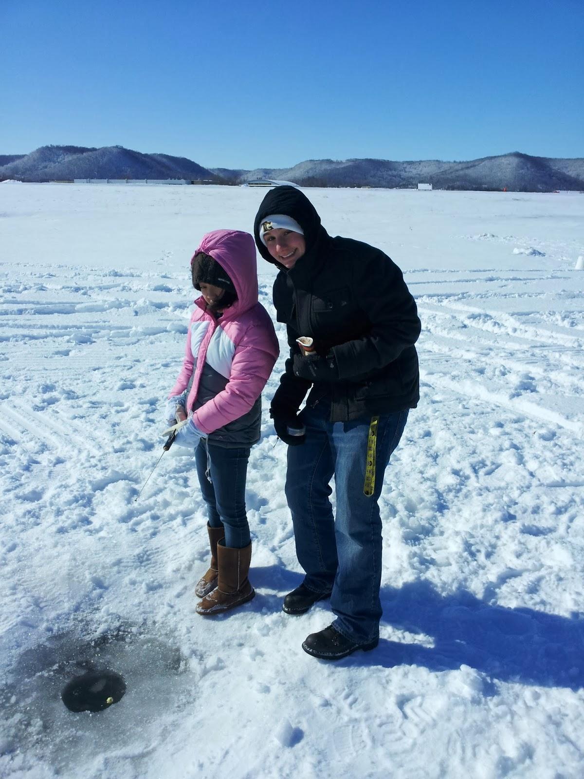 Saint mary 39 s university of minnesota campus notes for Go ice fish