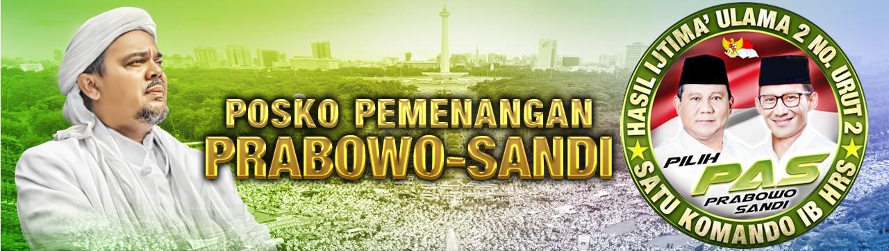Posko Pemenangan Prabowo - Sandi