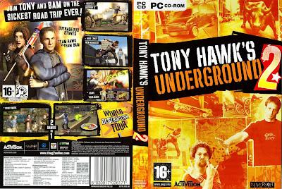 Tony Hawk´s Underground 2 PC DVD Capa