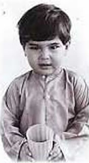 Saif Ali Khan Childhood Pictures