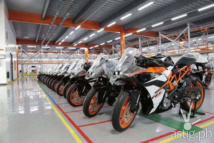 KTM Factory Assembly Travel