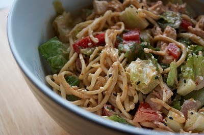 Not Your Everyday Asian Chicken Noodle Salad - umommy