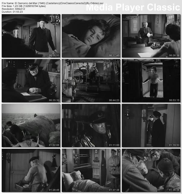 El demonio del mar (1949) | Capturas de pantalla | Película
