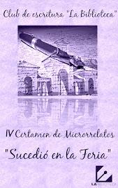 """Libro del IV Certamen de Microrrelatos """"Sucedió en la feria"""""""