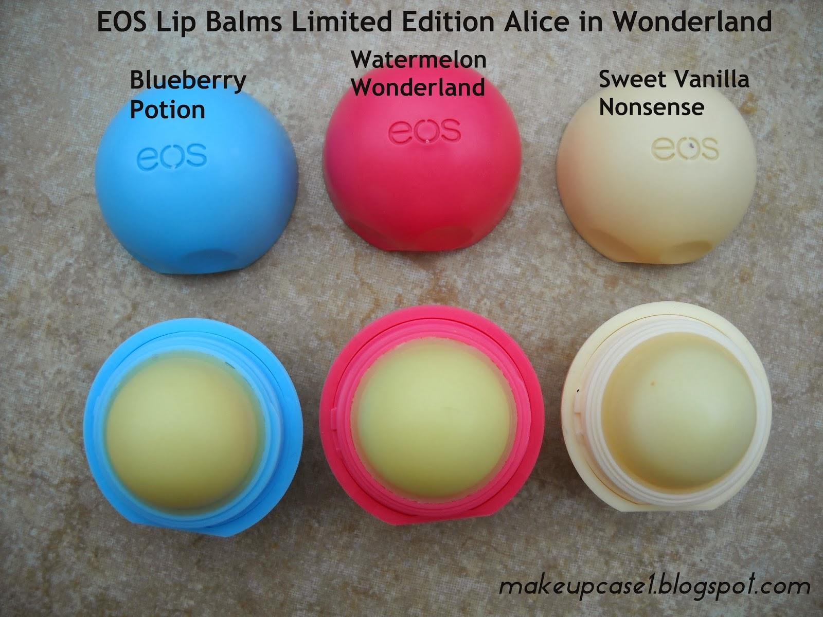Sweet Vanilla Nonsense-(vanilla sugar scent) White Eos Lip Balm