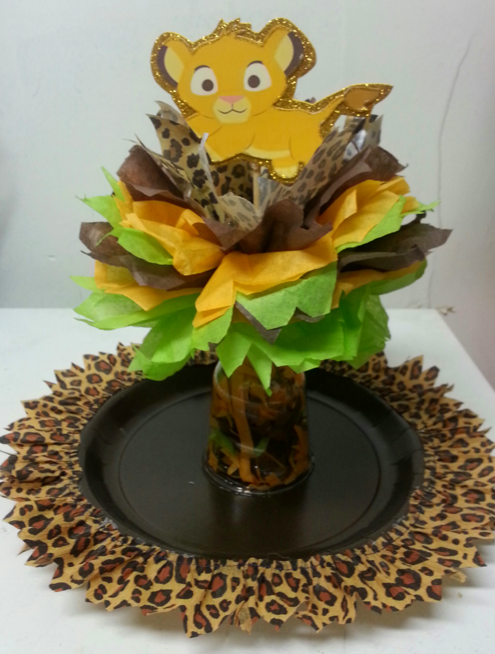 lion king tier centerpieces