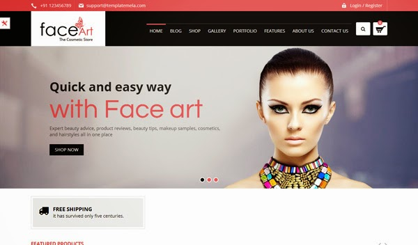 face-art-woocommerce-responsive-theme