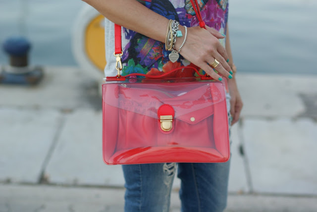 Marc by Marc Jacobs clearly bag, transparent bags trend, Fashion and Cookies