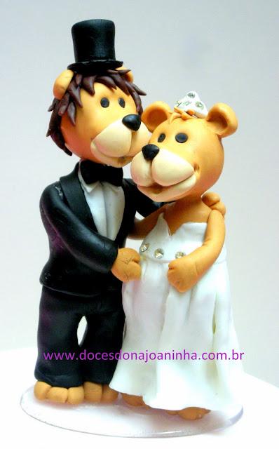 topo-de-bolo-de-casamento-noivinhos-leão-e-leoa-grávida