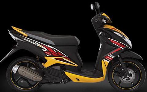 Yamaha Xeon RC Warna Hitam