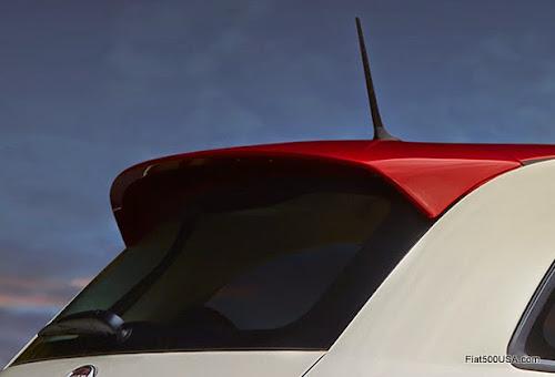 2015 Fiat 500 Ribelle Roof Spoiler