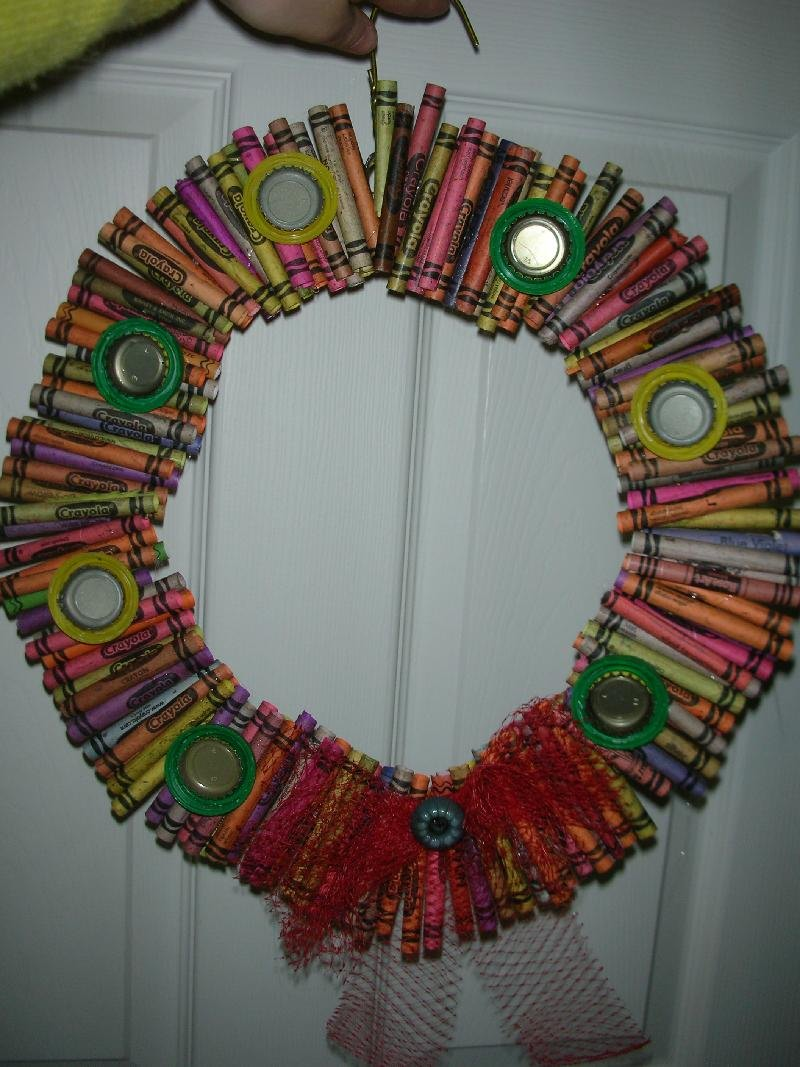 How To Make A Recycled Christmas Decoration -