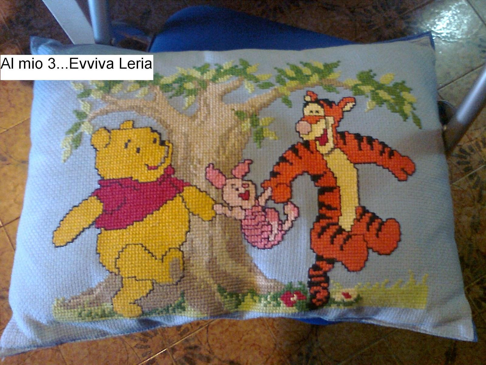 Al mio 3 evviva leria cuscino winnie the pooh winnie for Winnie pooh ka che