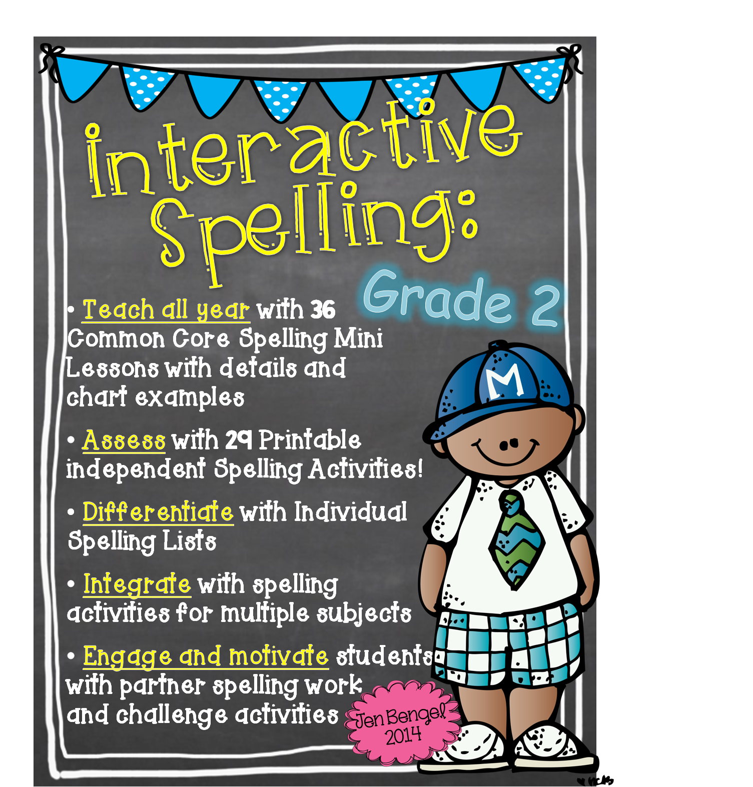 http://www.teacherspayteachers.com/Product/Interactive-Spelling-Grade-2-A-Year-Long-Common-Core-Unit-1164904