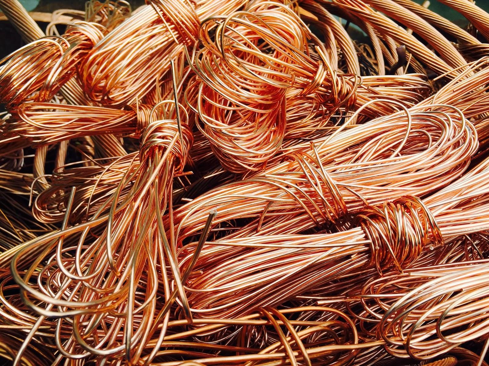 bare bright copper wire recycling