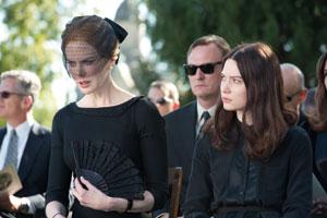 Nicole Kidman y Mia Wasikowska en Stoker