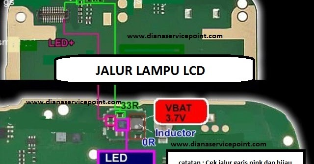 Anugrah Teknologi TRIK JUMPER JALUR LAMPU LCD NOKIA X2 01