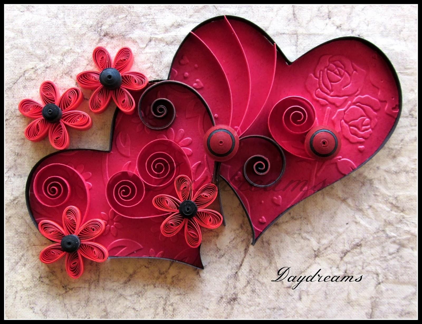 Как сделать из квиллинга сердце не сложное
