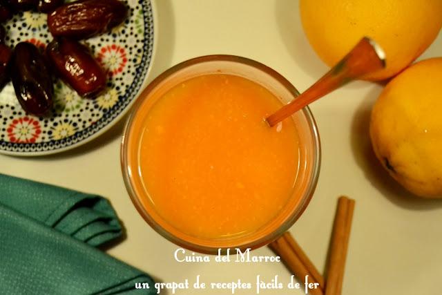 Suc de taronja i pastanaga