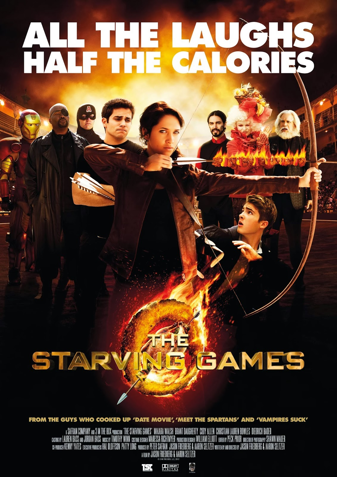 The Starving Games filmin afisi