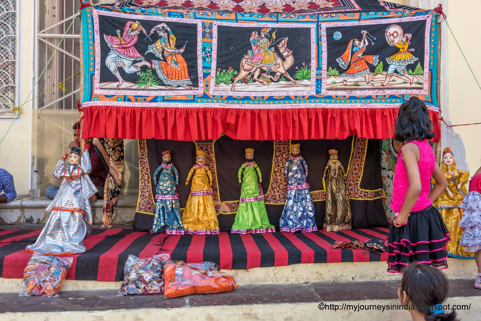 Puppet Show at City Palace Jaipur
