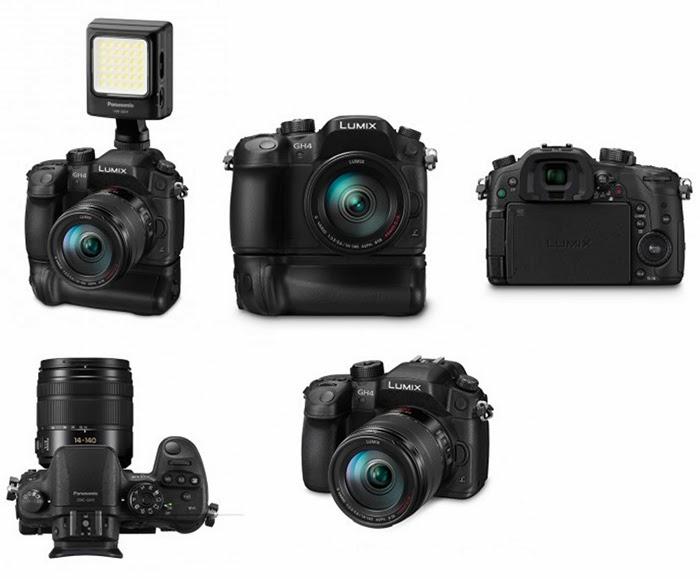 Panasonic GH4 照片規格流出