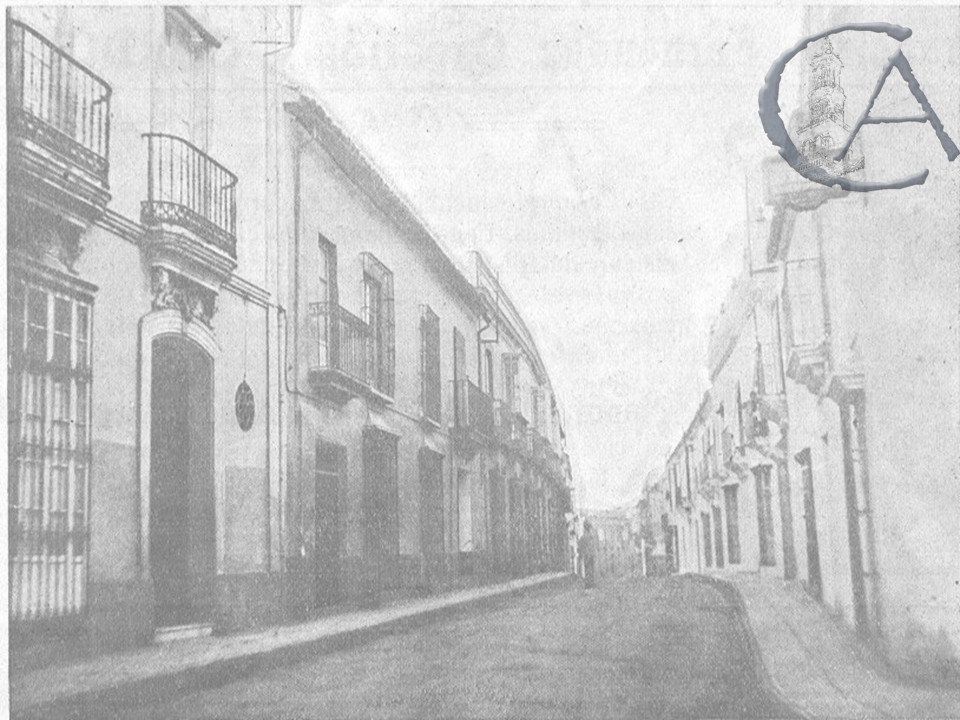 Calle castelar 1928 for Calle castelar