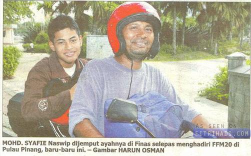 Kisah Syafie Naswip Anak Pemotong Rumput Di FFM 20