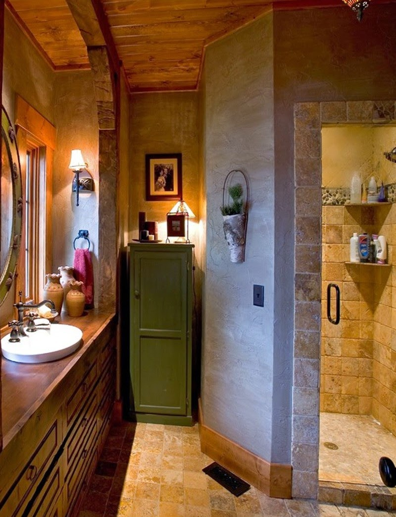 Деревянный дом в американском стиле, коридор