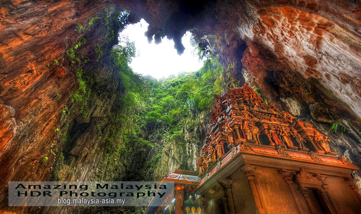 HDR Photo of Batu Caves