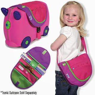 Vali ô tô trunki thiết kế lạ mắt, tiện lợi dành riêng cho bé