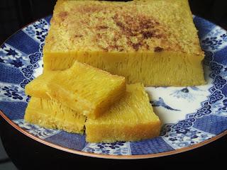 makanan khas indonesia - kue tradisional bika ambon