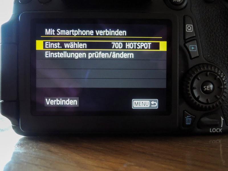 canon eos 70d wlan funktion teil 5 smartphone oder tablet mit eos remote datoli fotografie. Black Bedroom Furniture Sets. Home Design Ideas