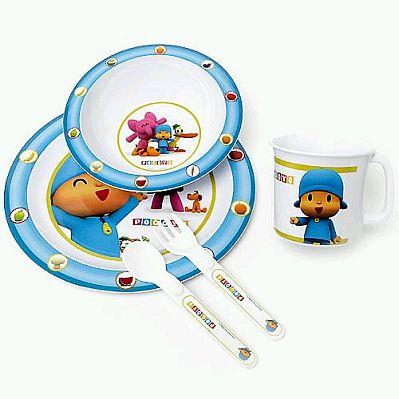 Platos vasos y cubiertos para beb s y ni os for Cubiertos para bebes