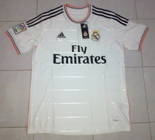 Leaked Jersey Grade Ori Real Madrid CF Home season 13/14