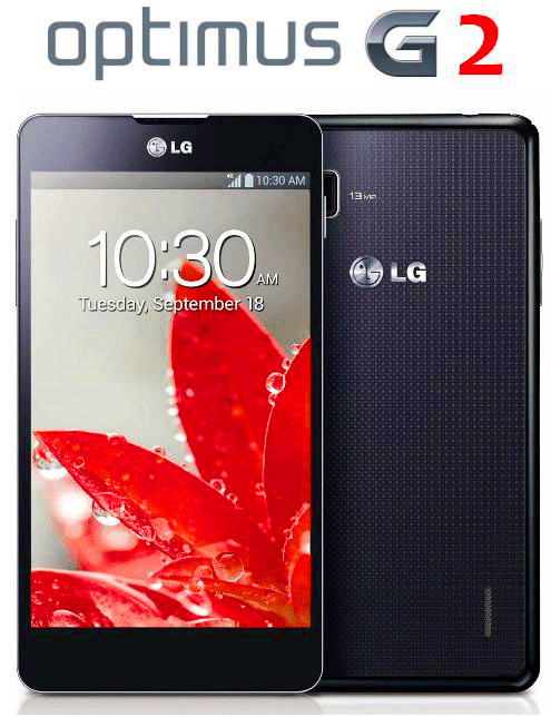 LG Optimus G2 comes with 5.5 inches full HD display