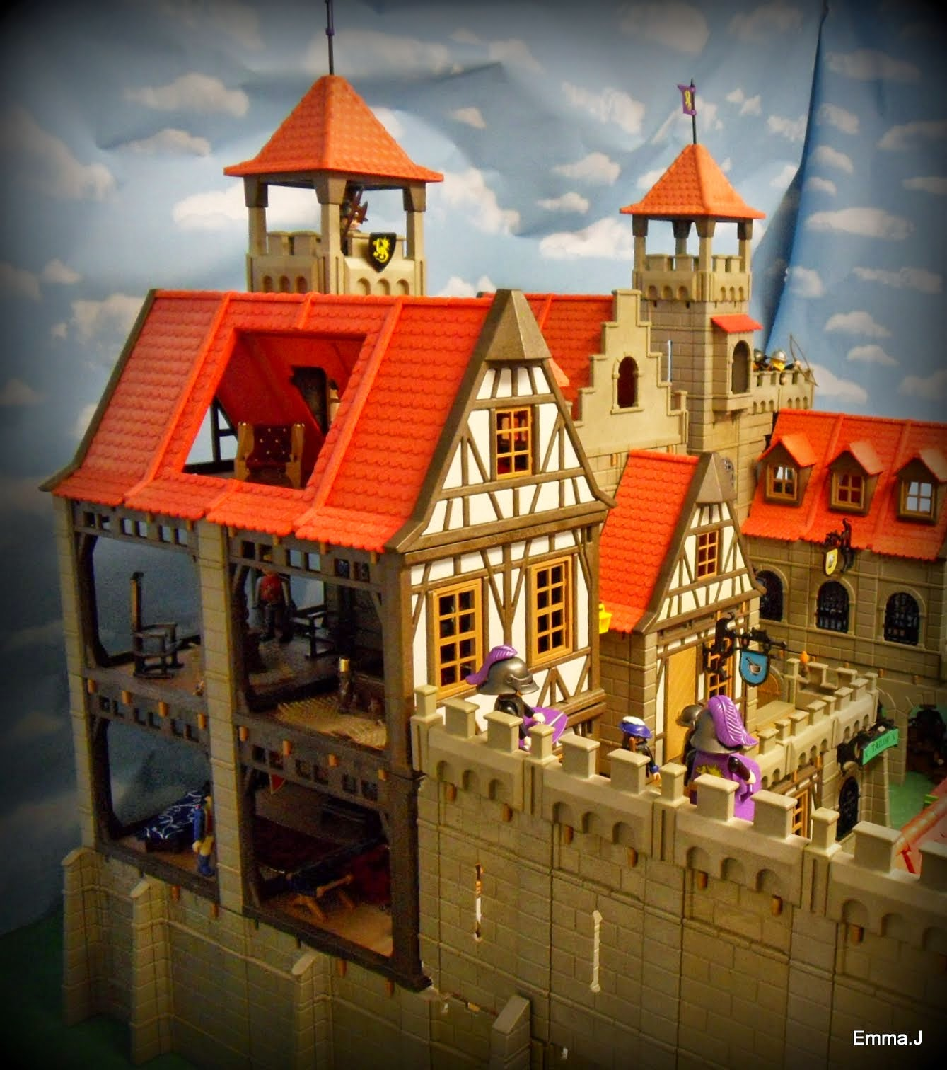 The Castle Keep Emma J S Playmobil
