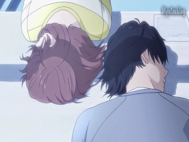 Anime Ao Haru Ride Episode 04 Sub Indo