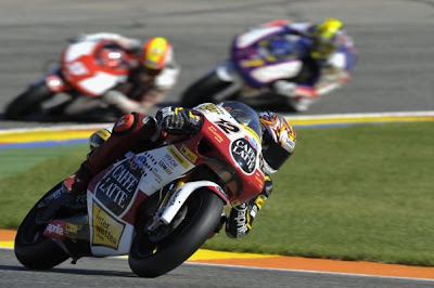 Moto2 Player Thomas Luthi