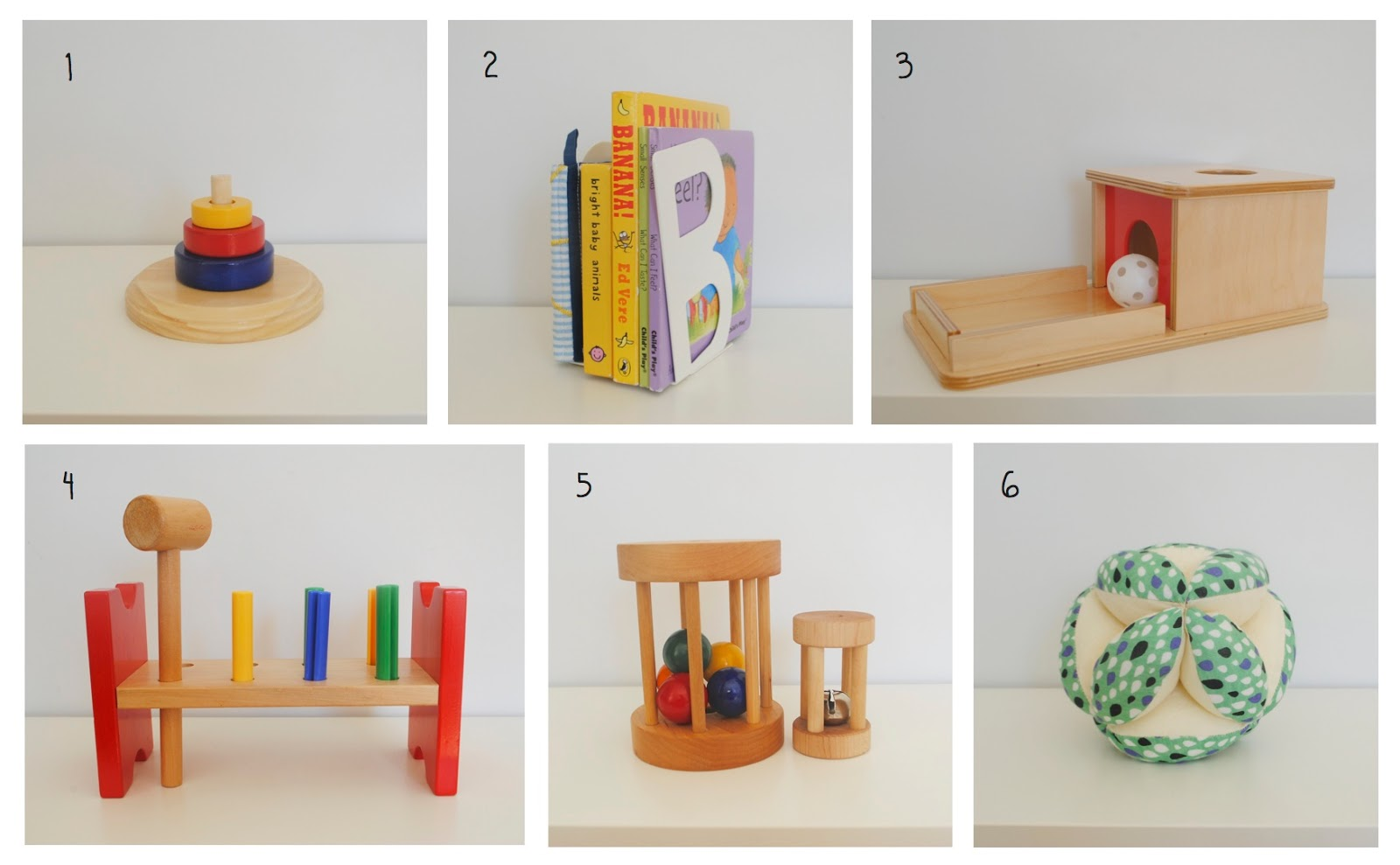 Belle and beau montessori on our shelves at 8 months for Ikea bookends uk