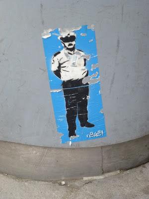 Sticker, Stencil, Streetart, Urbanart