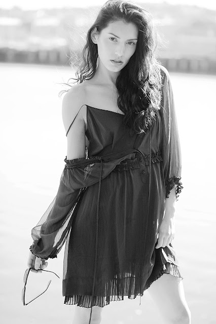 Model Ellen Hancock photographed by Paige Craig