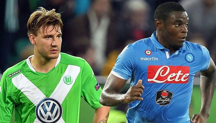 Wolfsburgo vs Napoli en vivo