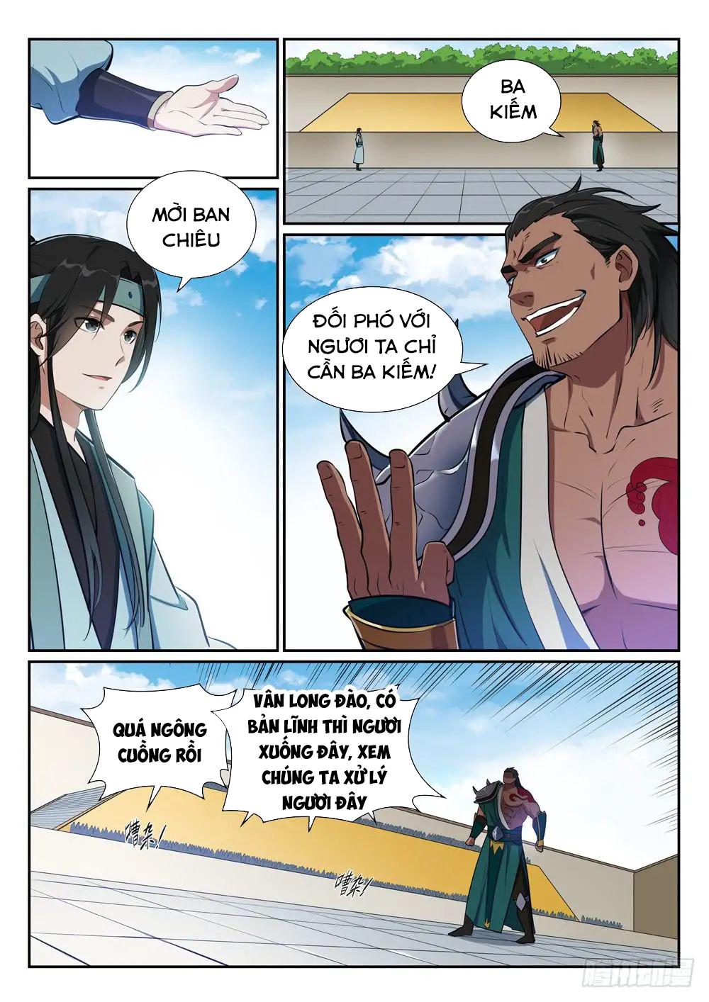 Hành Trình Tu Tiên chap 377 - Trang 4