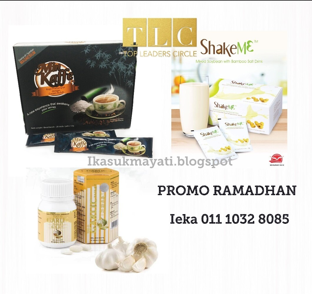 Shake me, Min Kaffe & Garlic Tablet